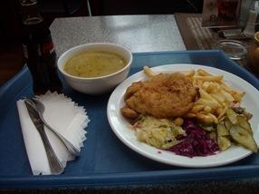 menú de 4 € en Cracovia