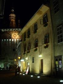 casa natal de Vlad III, el empalador y torre del reloj, Sighisoara