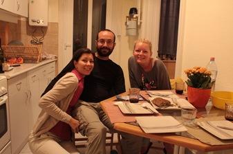 Judit, Marti y yo, Budapest
