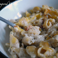 Bacon Ranch Chicken Mac and Cheese