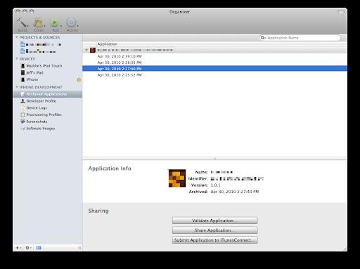 Xcode 3.2 5