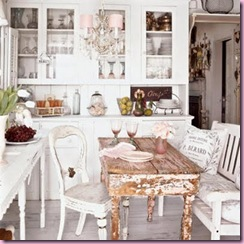 Shabby Chic Kitchen - Coastal Living