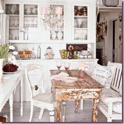 Shabby Chic Kitchen - Coastal Living