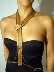 Gold Mesh Harness III