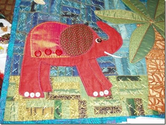 41 elephant after embellishing
