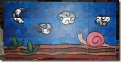 snail painting three