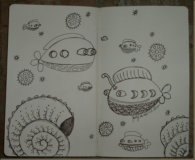 sketchbook project july five