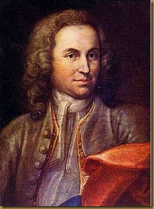 A portrait of a young man, supposedly of Bach, but disputed
