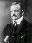 Portrait of Jean Sibelius from 1913