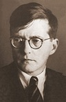 Dmitri Shostakovich in 1942