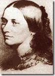 Sketch of Clara Wieck Schumann