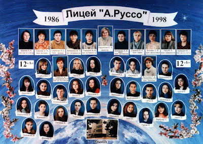 12ВА и 12Б классы, 1998 г.
