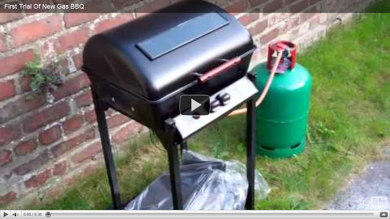 New Landmann Gas BBQ (First Use)