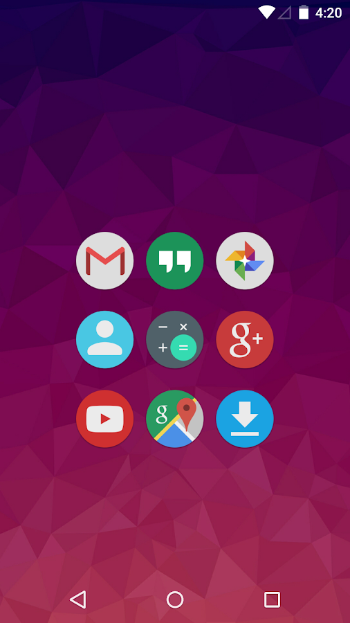Merus - Icon Pack Screenshot