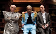 Bruce Willis, Morgan Freeman y John Malkovich