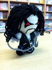 Lobo Amigurumi por La Costurera Ninja