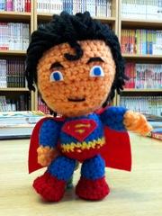 Superman Amigurumi por La Costurera Ninja