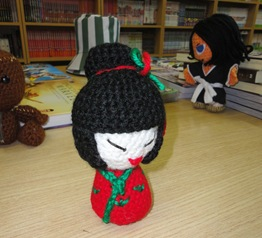 Japonesa Amigurumi en Nikochan Comics