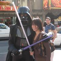 Tammy & Darth Vader