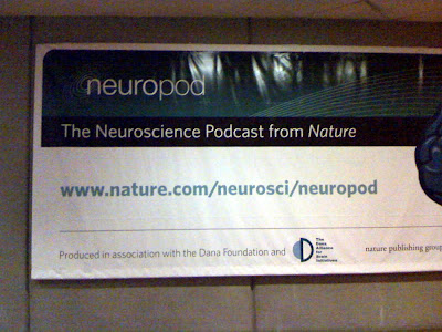 Neuroscience Podcast, ad from DC metro station