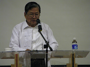 >9th Annual Burmese Literary Talk (8th Nov 2008) – Part 02