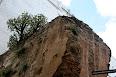 Foto de las murallas árabes en el Barrio Carmen