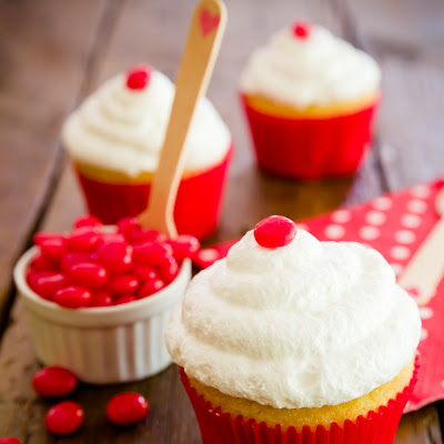 Red Hot Cupcakes