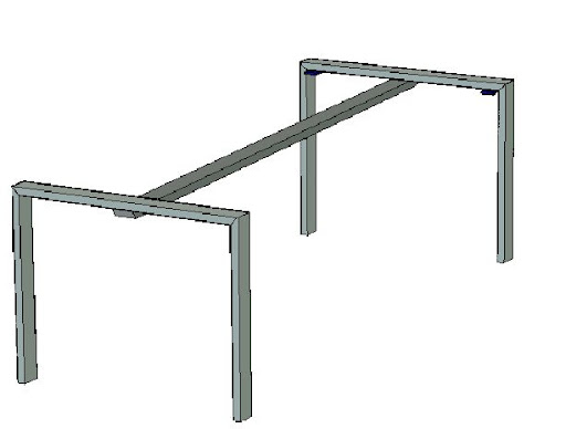 Tafel Onderstel Maken : Een tafelframe laten maken wonen