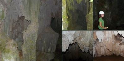Ver entrando a la primer cueva