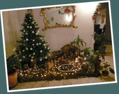 Ver festejando navidad
