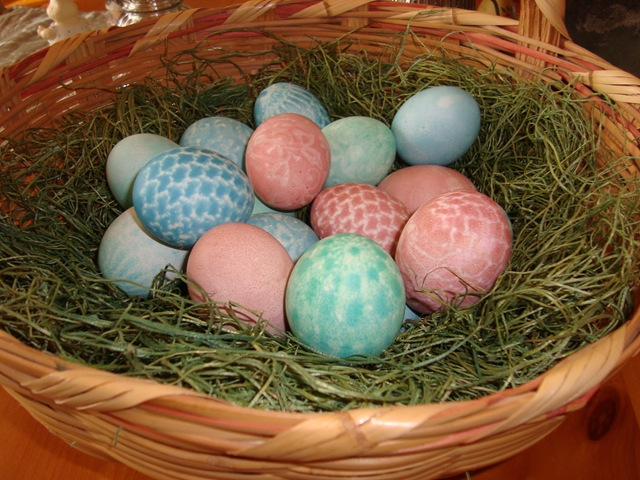 lace easter eggs 002