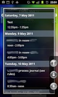 Screenshot of Quick Agenda