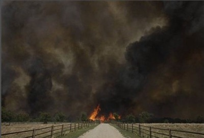 Possum Kingdom fire
