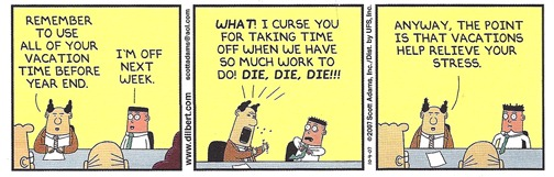 dilbert vacation