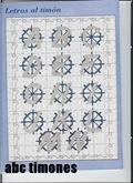 abecedarios punto de cruz. (159)