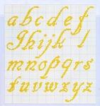 abecedarios punto de cruz. (177)