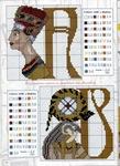 abecedarios punto de cruz. (218)