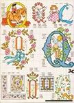 abecedarios punto de cruz. (350)