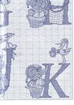 abecedarios punto de cruz. (305)