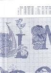 abecedarios punto de cruz. (307)