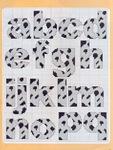 abecedarios punto de cruz. (689)