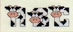 abecedarios punto de cruz. (694)