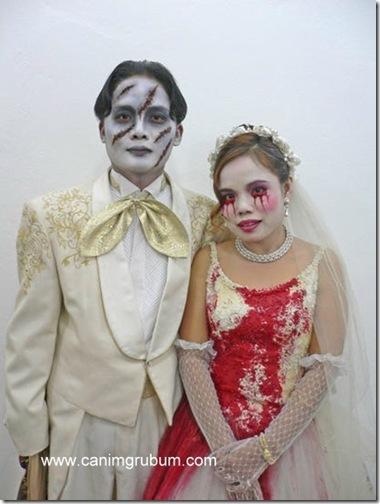 bodas en halloween