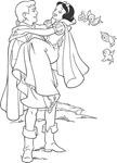 blancanieves colorear (2)