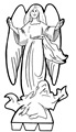 11-Belén recortable 001 angel