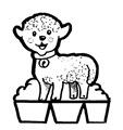 11-Belén recortable 001 oveja