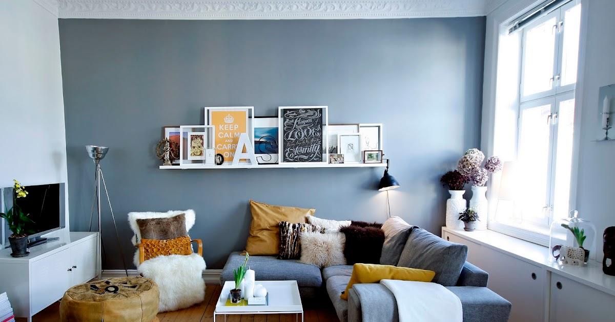 Interiors originals mes inspiraci n rdica - Divano grigio abbinamenti ...