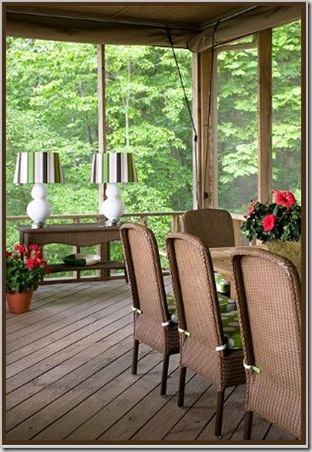 Tobi Fairley  LakeviewEstate porch