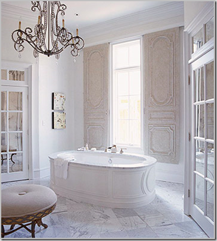 Developing Designs: Chandeliers in the Bathroom II