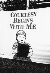 courtesy begins with me
